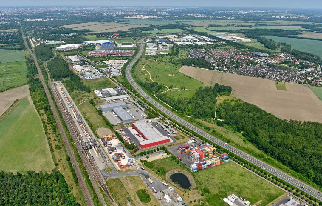 Güterverkehrszentrum (GVZ) Berlin Süd Großbeeren