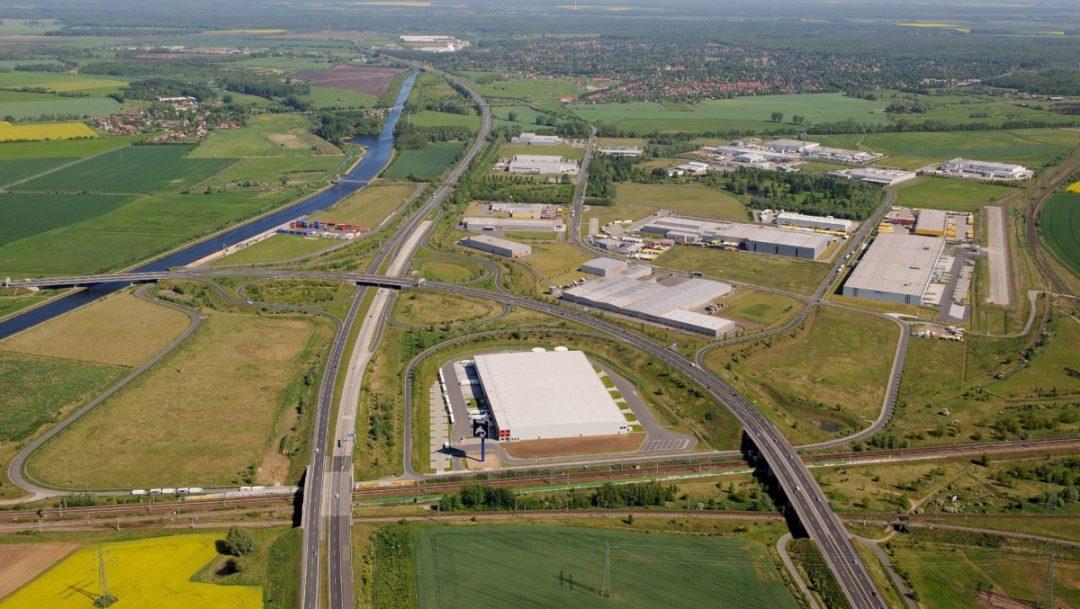 Güterverkehrszentrum (GVZ) Berlin West Wustermark inkl. öffentlichen Binnenhafens