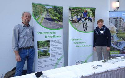 AGFK Brandenburg auf der 11. Fahrradkommunalkonferenz in Berlin