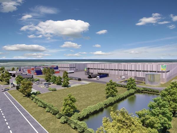 Goodman entwickelt im GVZ Freienbrink eine moderne Logistikimmobilie für Getränke Essmann