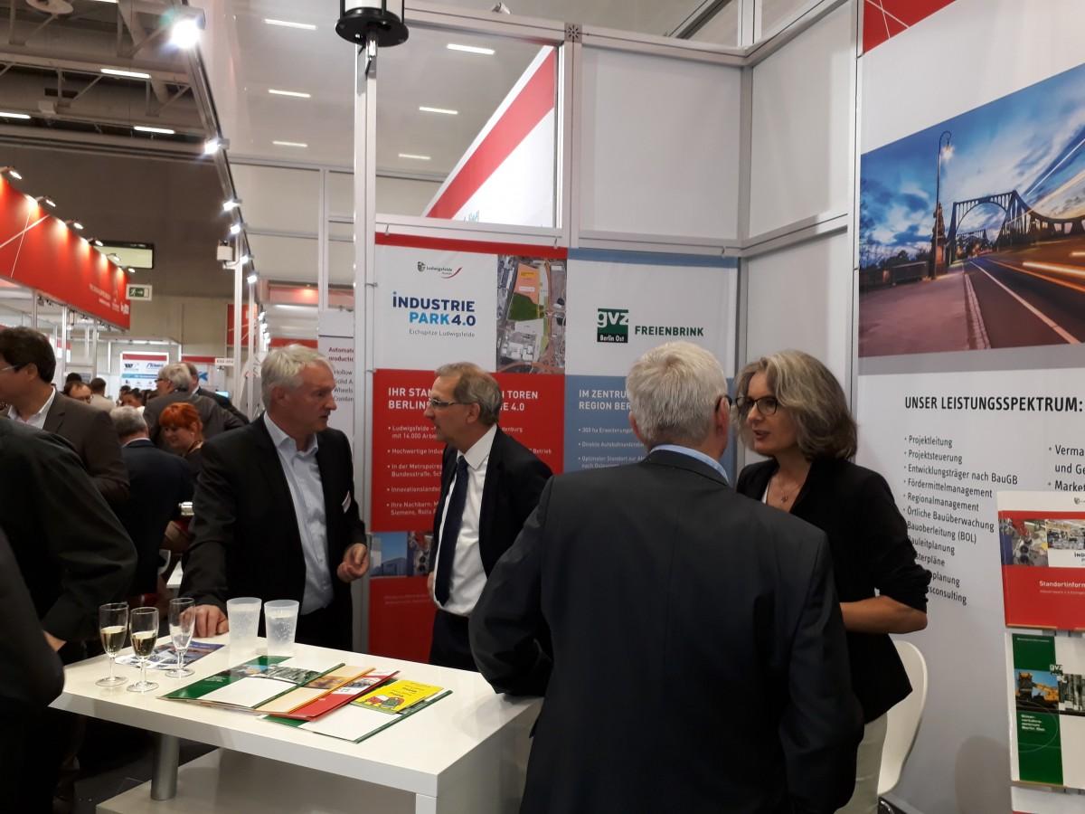 Messeauftritt auf der InnoTrans 2018 in Berlin – IPG Potsdam