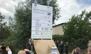 """Feierlicher Baustart für das Projekt """"Bahn-Technologie-Campus"""""""
