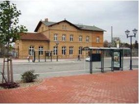 Umbau und Modernisierung des Bahnhofes Ludwigsfelde – Bahnhofsgebäude (Stadtmuseum), Verkehrsknüpfungsanlagen, Umfeld