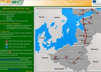 """Projektsteuerung im Rahmen des EU-Projektes """"Rail Baltica Growth Corridor"""" für den Projektpartner Stadt Ludwigsfelde"""