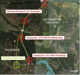 Touristisches Wegeleit- und Informationssystem für die Gemeinde Schönwalde-Glien