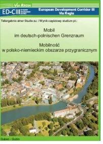 """ViaRegia-Flyer """"Mobil im deutsch-polnischen Grenzraum"""""""