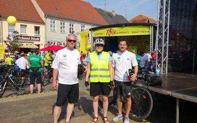 Die IPG nimmt erstmals an der Tour de Prignitz teil