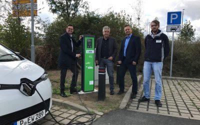 Ausbau der E-Mobility im GVZ Großbeeren