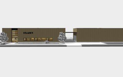 Neubau einer Fertigungshalle im GVZ Großbeeren