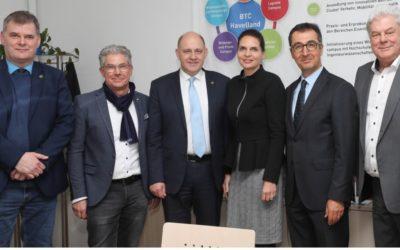 Bundestagsausschuss informiert sich über das Projekt BTC