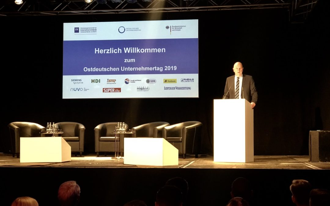 Der Industriepark 4.0 Eichspitze Ludwigsfelde präsentiert sich auf dem Ostdeutschen Unternehmertag 2019