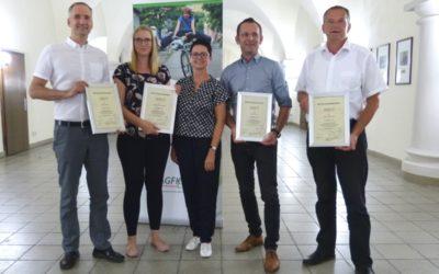 AGFK BB nimmt vier neue Mitglieder auf