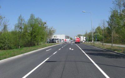 Sanierung der Rostocker Straße im GVZ Berlin West Wustermark abgeschlossen