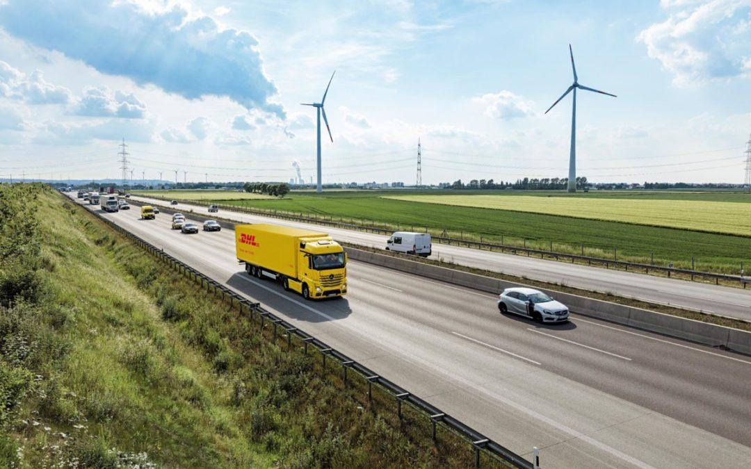 DHL Freight sorgt für grüne Logistik in der Straßenfracht