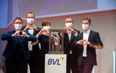Der Deutsche Logistikpreis 2020 (BVL) geht an dm-drogerie markt