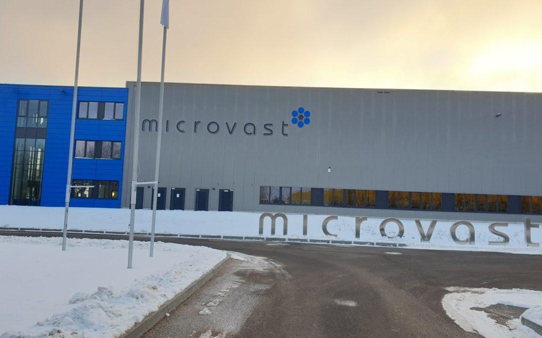 Neue Microvast Europazentrale nimmt Produktion auf