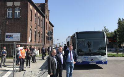 BTC-Gelände nunmehr für den öffentlichen Verkehr freigegeben.